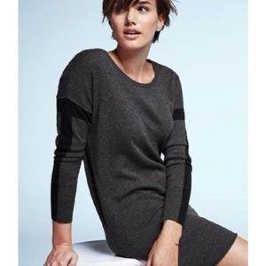 Athleta Azalia Color Block Wool Sweater Dress XXS